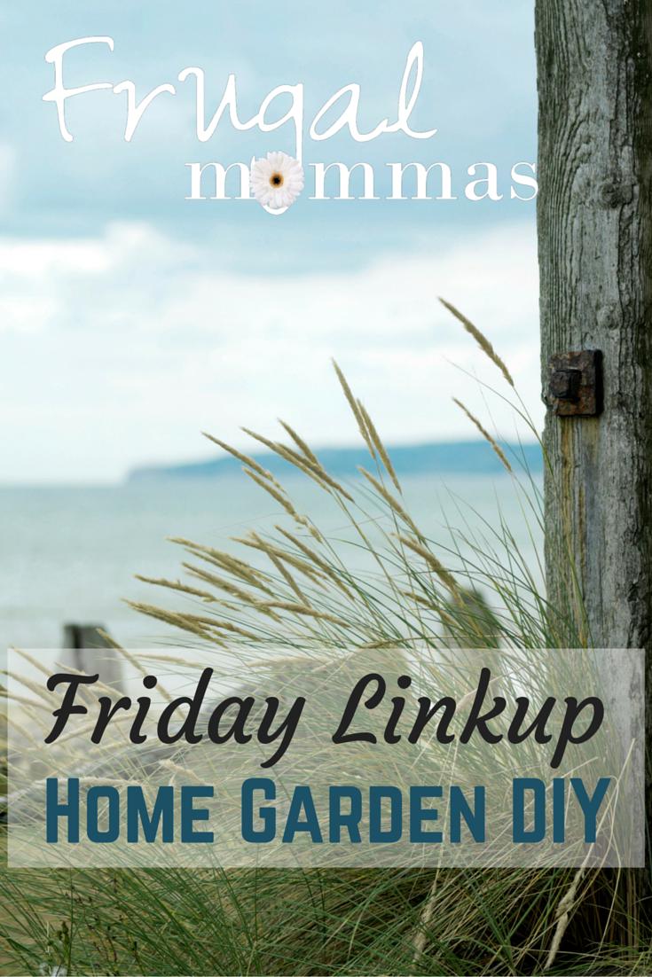 frugal friday home garden diy linkup
