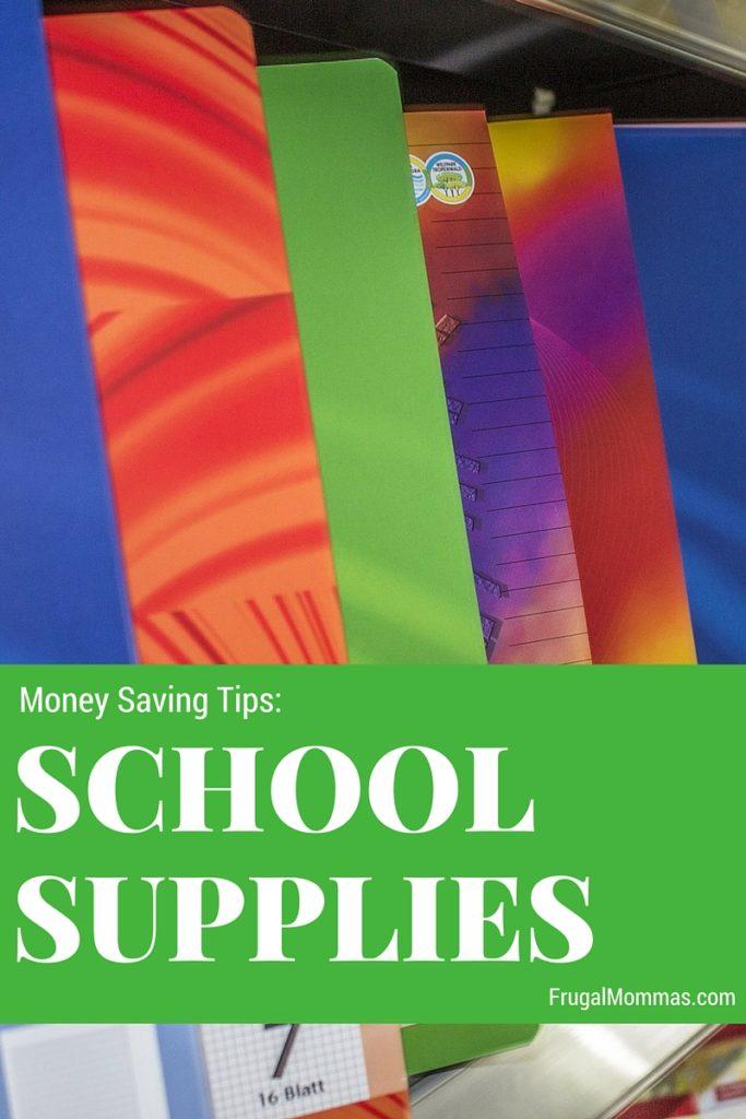 Save Money On School Supplies