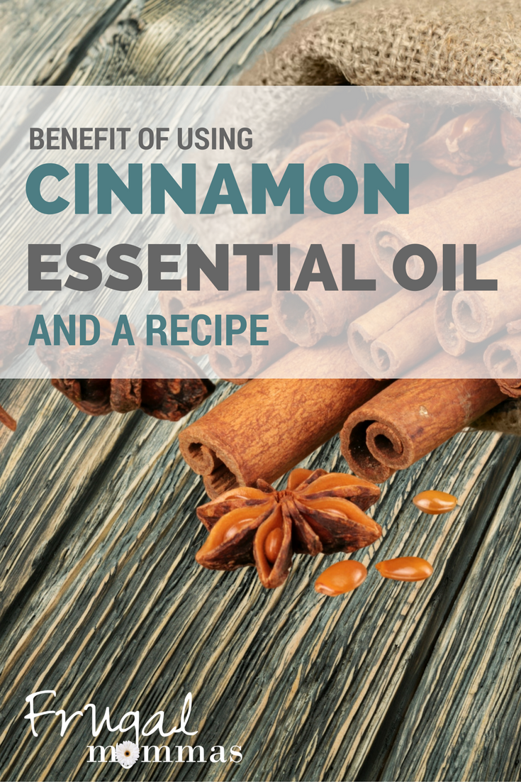 Using Cinnamon essential oil and a recipe