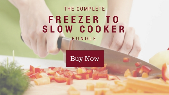 freezer to slow cooker frugal family meal plan