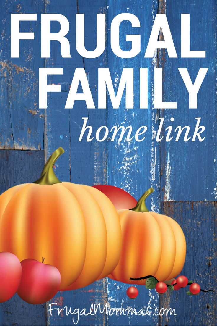 Frugal friday link up 53 the place for busy moms for Frugal home designs