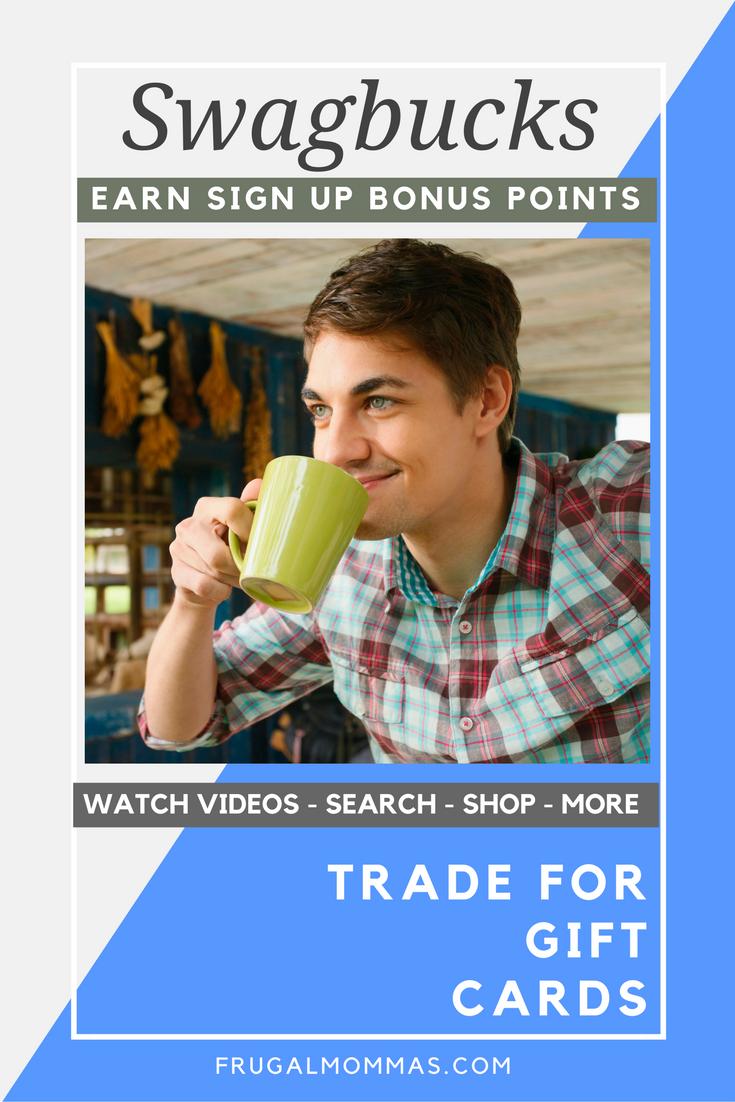 swagbucks sign up bonus
