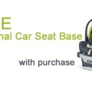 Baby Supplies – Free Additional Car Seat Base Limited Time Offer