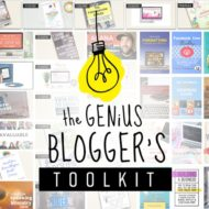 Best Blogging Toolkit Deal on the Market – Genius Blogger's Toolkit
