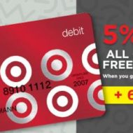 Earn Gift Cards from Swagbucks with Target REDCard