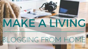make a living blogging