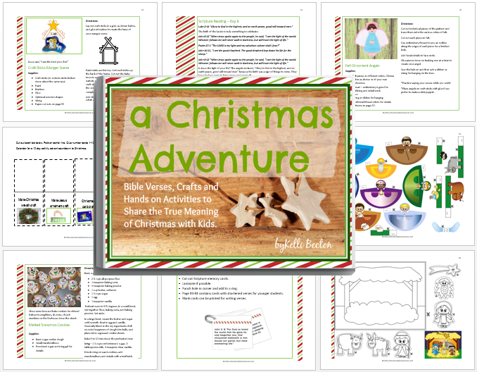 a Christmas Adventure Activity Book