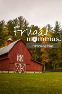 frugal mommas homemaking linkup