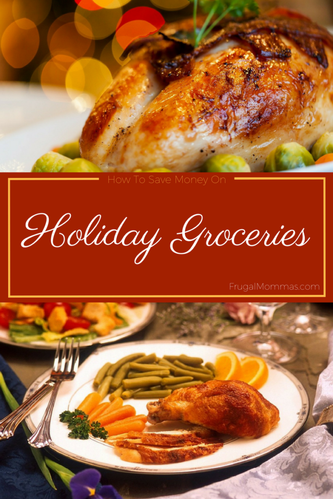 save money on holiday groceries
