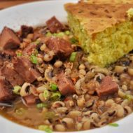 Black Eyed Peas – Greens and Corn Bread – New Year Southern Traditions