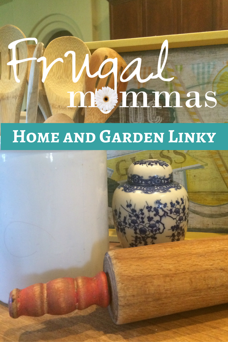 Frugal Living Home Garden Friday linky 68