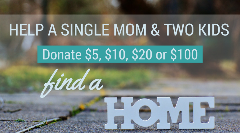 Help a Single Mother with Two Kids Find a Home