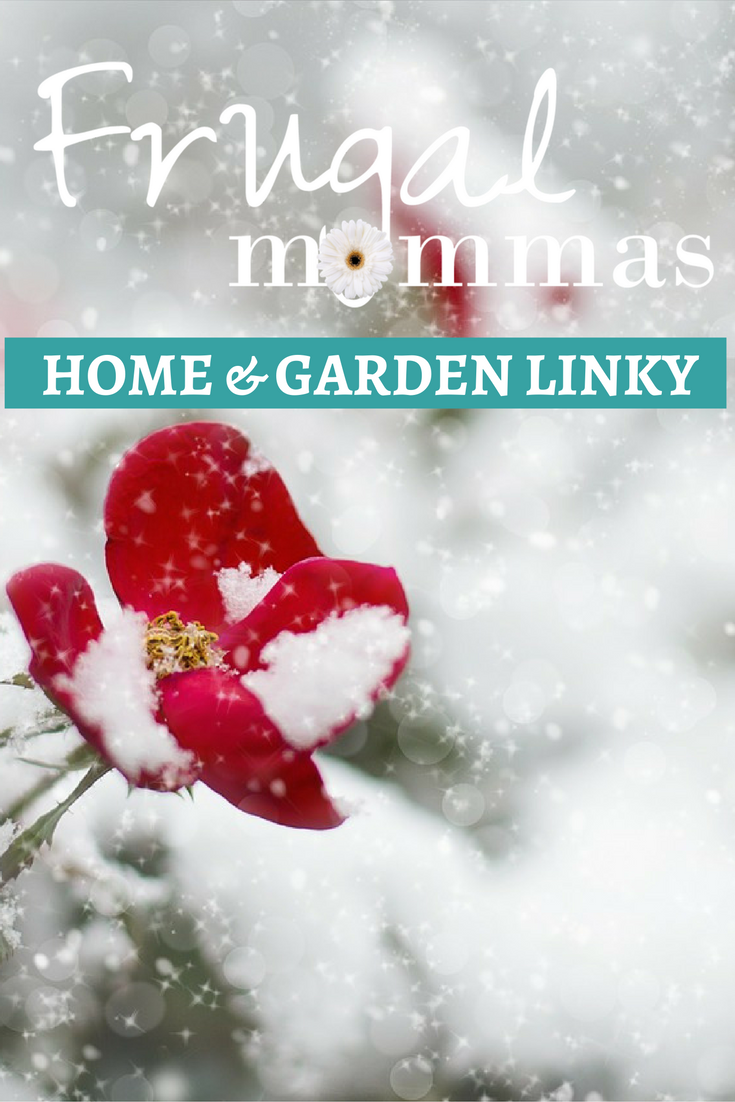 Friday Link Up Home and Garden Frugal Mommas