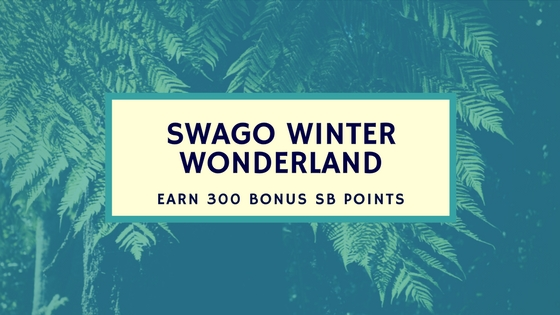 Earn Free Gift Card Points - SWAGO Winter Wonderland