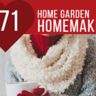 Home Garden Family Homemaking Linky 71