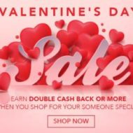 Valentine Discount Shopping and Cash Back Through Swagbucks
