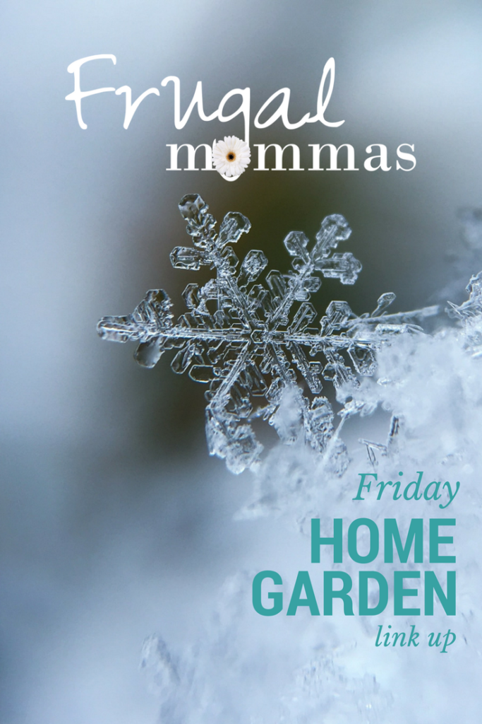 Frugal Mommas Friday Link Up - Home, Garden, Family Posts