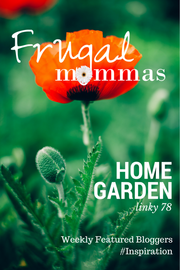 Frugal Mommas Home Garden linky 78