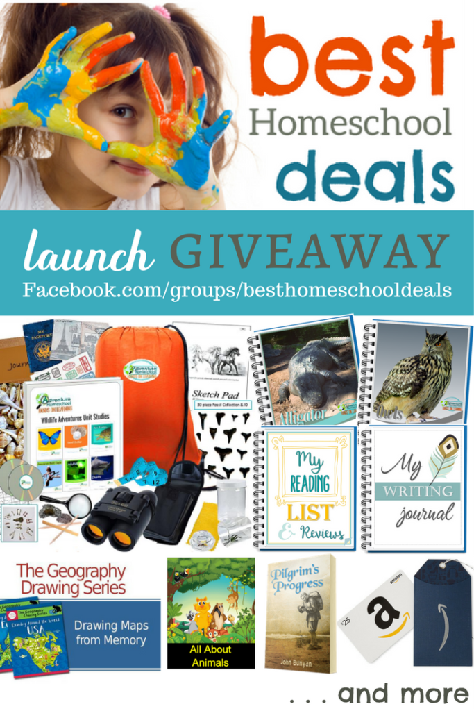 Best Homeschool Deals Group Launch Giveaway
