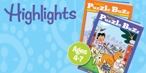 Earn Free Gift Card Points Highlights Puzzle Books