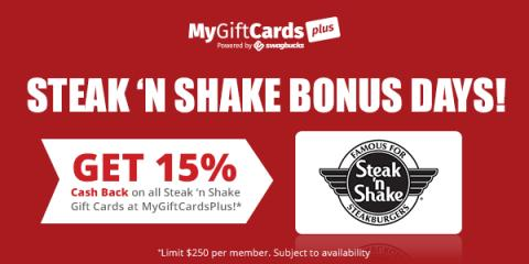 Steak N Shake Gift Cards