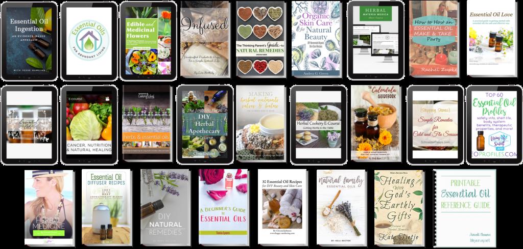 Essential Oils Recipe Cards - EO bundle sale!