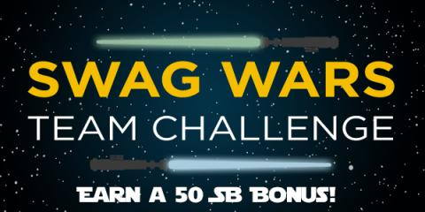 Earn Gift Cards Swag Wars Team Challenge