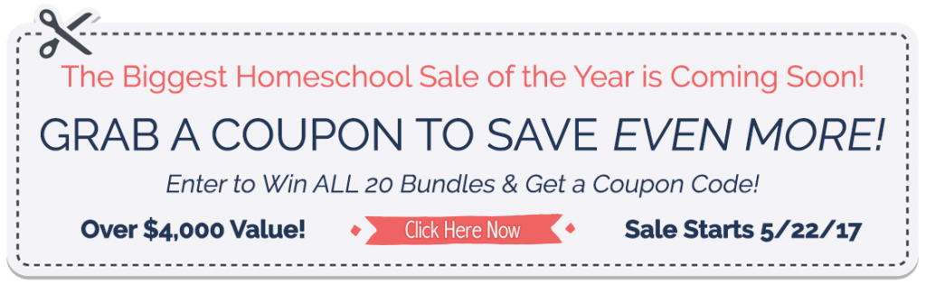 coupon for homeschool
