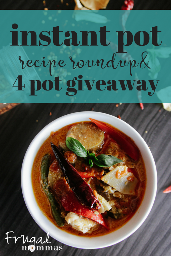 Instant pot recipe roundup - giveaway