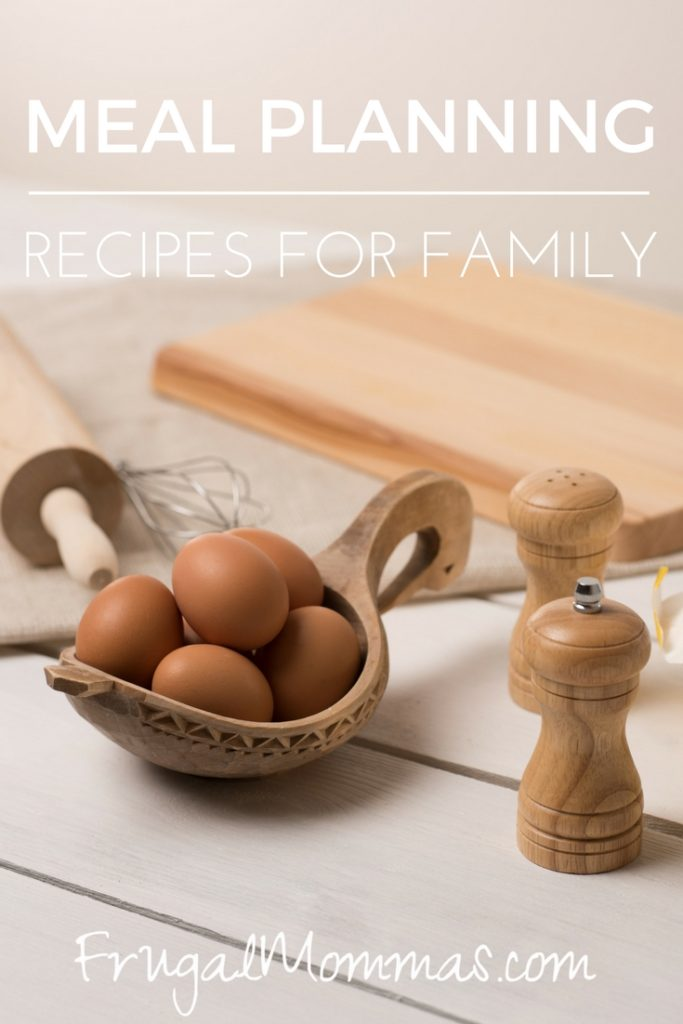 meal planning recipes for family