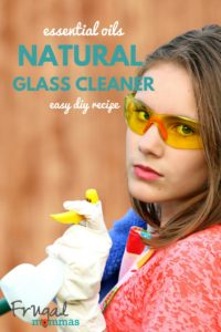 essential oils natural glass cleaner easy diy recipe