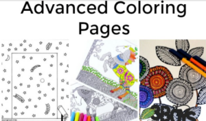 Advanced Coloring Pages Free