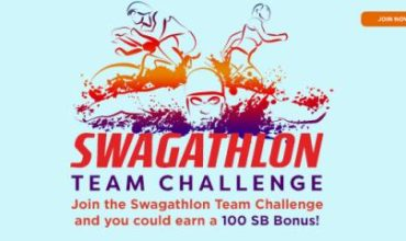 EARN Gift Card Points FREE with Swagathlon!