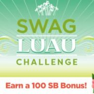Swagbucks Free Gift Cards with Luau Team Challenge