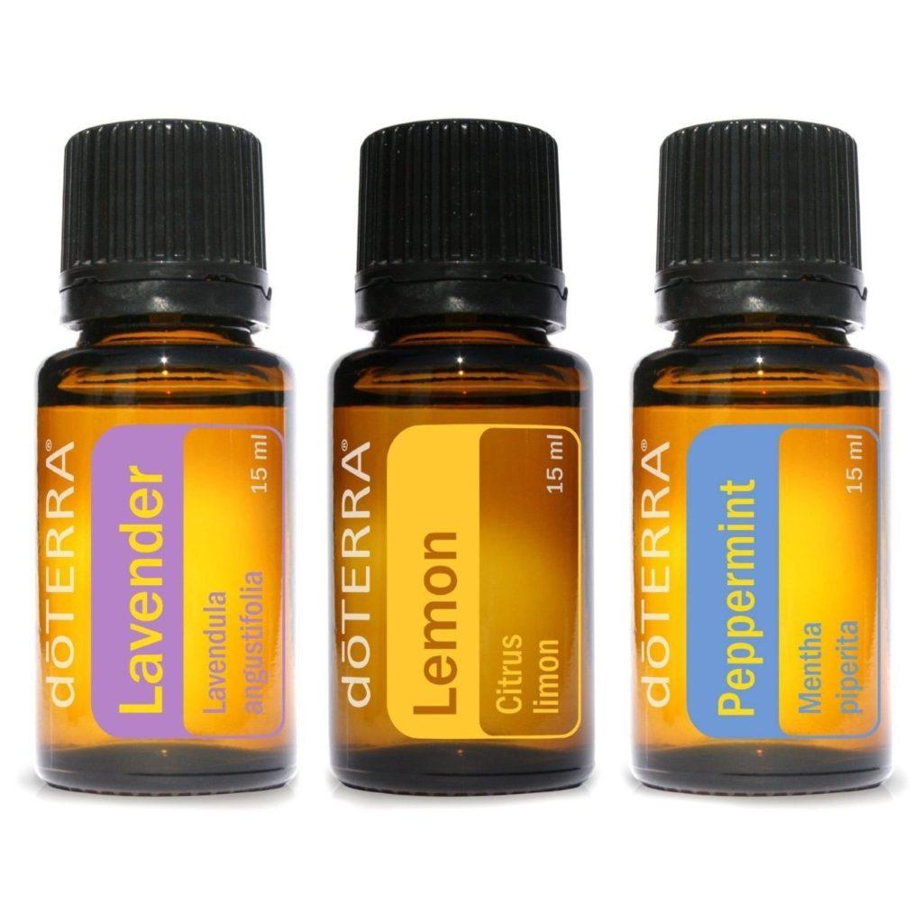 essential oils trio