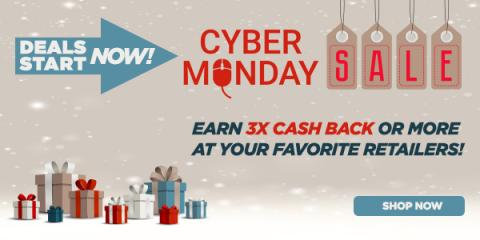 Cyber Monday Cash Back