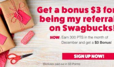 Swagbucks Gift Card Bonus Points Time is Here!
