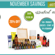 Essential Oils Savings in November – doTERRA Special