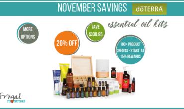 Essential Oils Savings in November – doTERRA Special