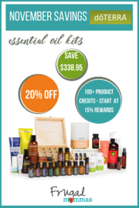 essential oil savings