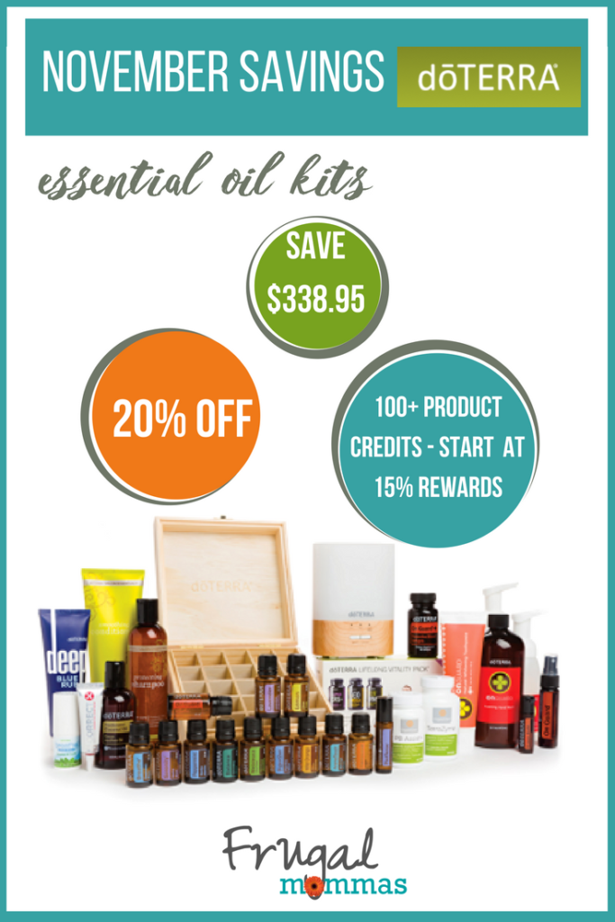 essential oils savings
