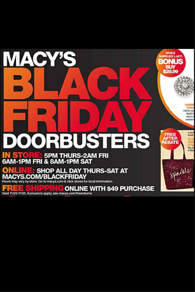 Macys Coupons Deals Sales - black Friday and coupon codes