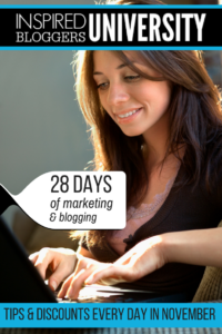 Online Marketing and Blogging Help - Inspired Bloggers University