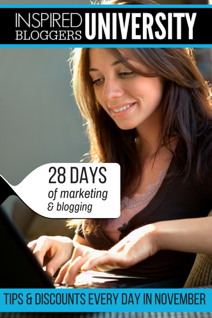 Online Marketing Blogging Help - Inspired Bloggers University