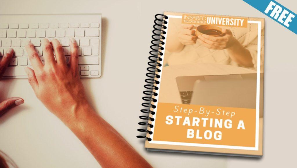 online marketing blogging - starting a blog guide freebie