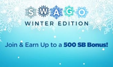 Swagbucks Winter Fun Gift Card Points with SWAGO