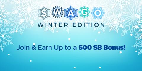 Swagbucks Winter Fun Gift Card Points