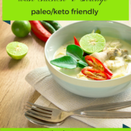 Coconut Lime Soup with Chicken and Shrimp – Keto Paleo Whole30 Recipes