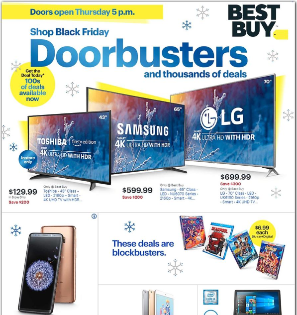 Best Buy Black Friday Ads