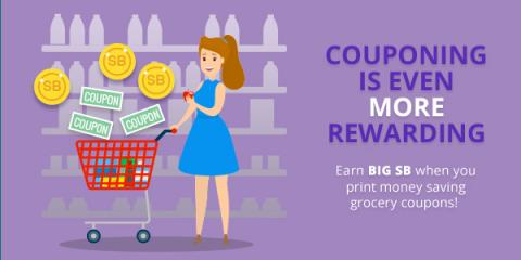 You can save on groceries and earn gift cards from Swagbucks.